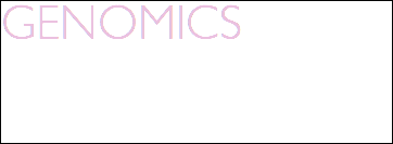 GENOMICS artwork that translates the technical, conceptual, and aesthetic aspects of this cutting-edge, technology-driven field. Click image to enter-